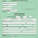 formulář přiznání DPH